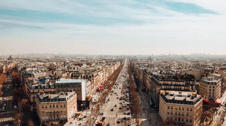 Champs Elysées Paris Etablissement Public & Privé